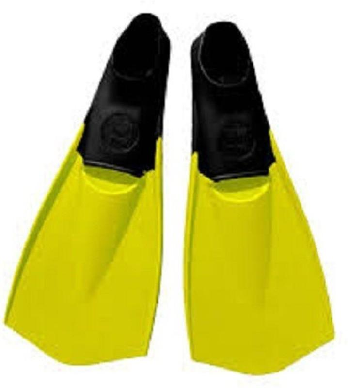 TYR TYR FLEX FINS Diving Fins(Yellow, Black)