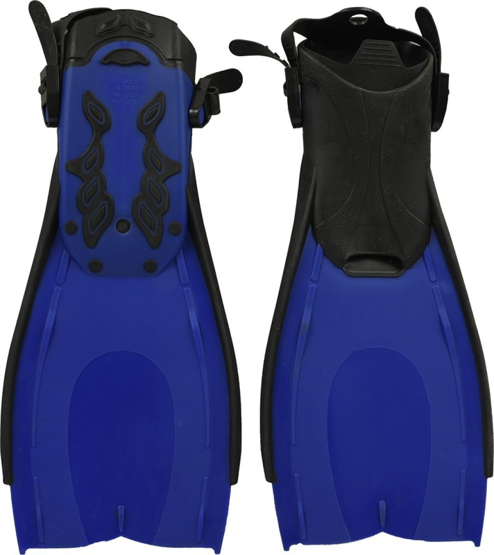 Running 505 Diving Fins(Black, Blue)