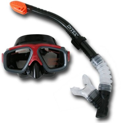 Intex Reef Rider Swimming Snorkel Set Diving Mask