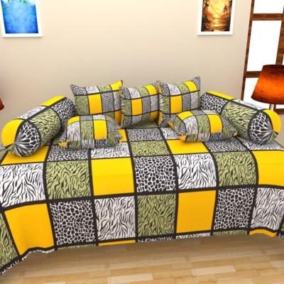 Shobhraj Cotton Abstract Diwan Set
