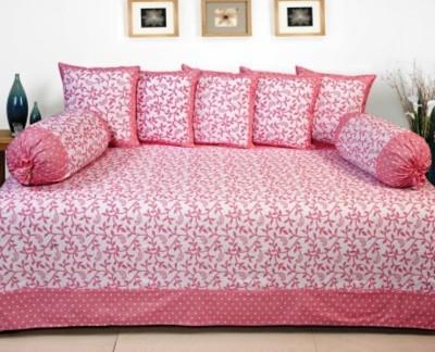 RedHot Cotton Floral Diwan Set