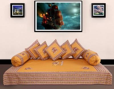 Ayushi Craft & Fashions Cotton Abstract Diwan Set