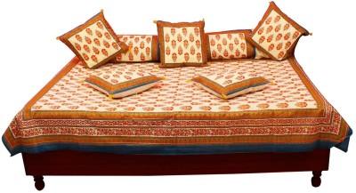 JaipurRaga Cotton Embroidered Diwan Set
