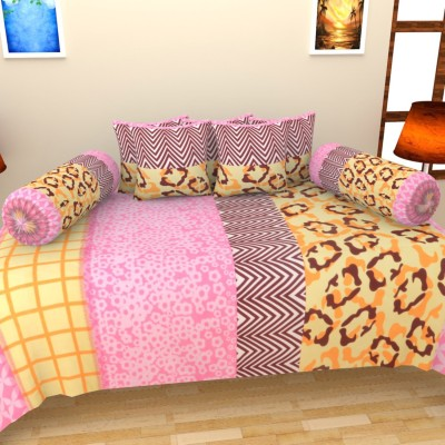 Home Castle Polycotton Abstract Diwan Set