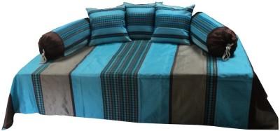 JSR Silk Striped Diwan Set