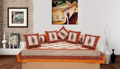jaipur printex Cotton Floral Diwan Set