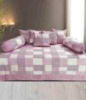 The Fresh Livery Cotton Checkered Diwan Set
