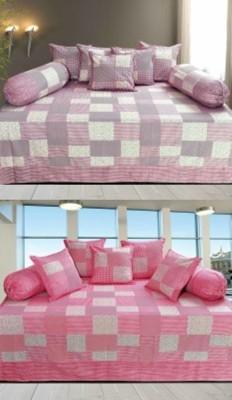 RedHot Cotton Checkered Diwan Set