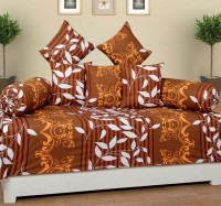 IndianOnlineMall Cotton Floral Diwan Set