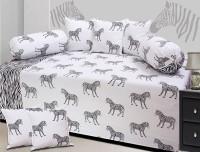 beleza furnishing Cotton Animal Diwan Set
