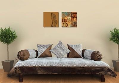 Zaffre,s Polyester Striped Diwan Set