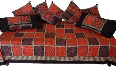 JaipurRaga Cotton Checkered Diwan Set