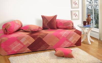 Swayam Cotton Abstract Diwan Set