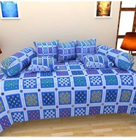SVC Cotton Checkered Diwan Set