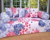 BSB Trendz Polycotton Floral Diwan Set