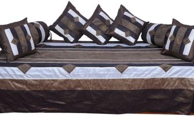 JaipurRaga Silk Embroidered Diwan Set