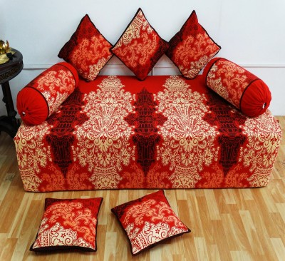 Heritage Fabs Cotton Abstract Diwan Set