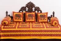 Jaipur Fabrics Cotton Animal Diwan Set