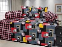 Bajaj Cotton Checkered Diwan Set