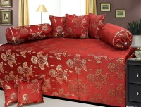 Canadian Icon Chenille Floral Diwan Set