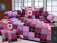 Fresh from Loom Cotton Geometric Diwan Set