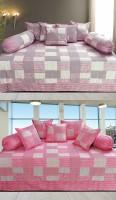 Hargunz Cotton Checkered Diwan Set