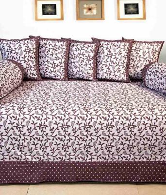 Little Joy Cotton Abstract Diwan Set