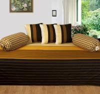Shobhraj Cotton Striped Diwan Set
