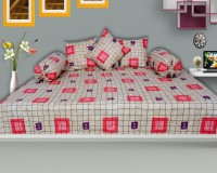 Urban Style Cotton Checkered Diwan Set best price on Flipkart @ Rs. 694