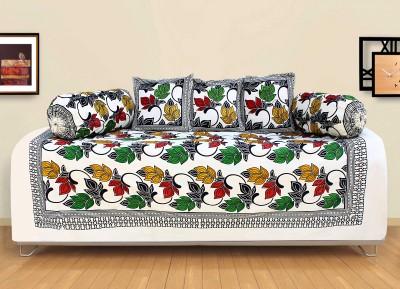 Story@home Cotton Floral Diwan Set