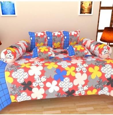Aashiyana Sajona Cotton Floral Diwan Set