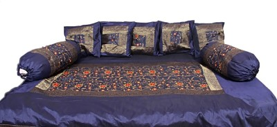 Soundarya Polyester, Silk Abstract Diwan Set