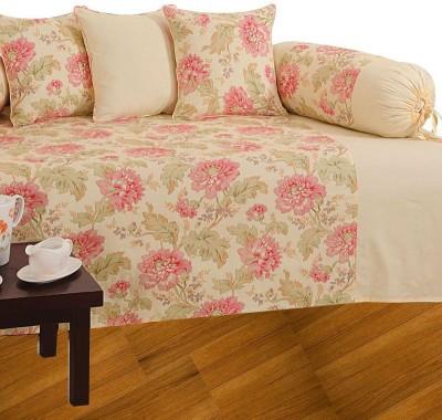 Sovam International Cotton Floral Diwan Set