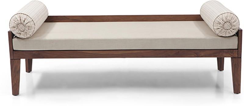 Urban Ladder Malaga Solid Wood Diwan(Finish Color - Teak)