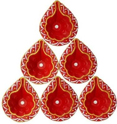 CraftEra Ceramic Table Diya Set