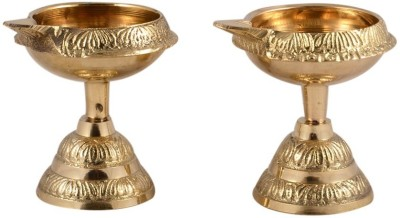 MA Design Hut Brass Table Diya Set