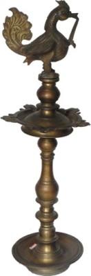 IndianShelf Bronze Hanging Diya(Height: 25 inch)