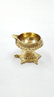 Brass Gallery Brass Table Diya(Height: 4.5 inch)