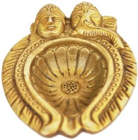 Aakrati #NAME? Brass Table Diya(Height: 1 inch)