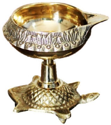 Dekor World Vaastu Deepak Brass Table Di...