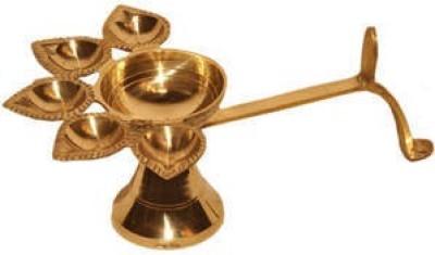 S S Enterprises Brass Table Diya