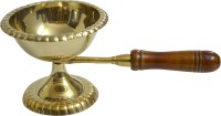 Frestol.com Brass Table Diya(Height: 3.5 inch)