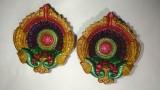 Sambhrama Diyas Terracotta Table Diya Se...