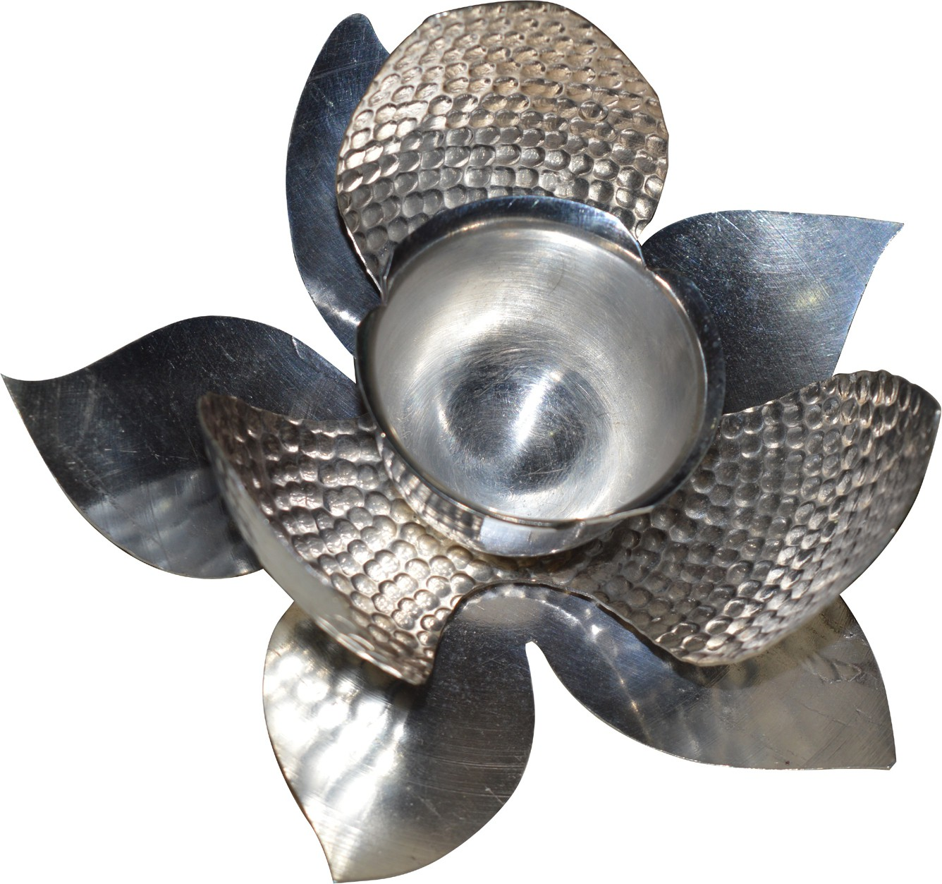 Kataria Jewellers Silver Table Diya(Height: 2.5 inch)