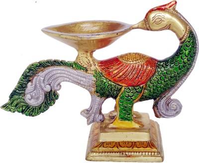 Aone Quality Brass Table Diya(Height: 5 inch)