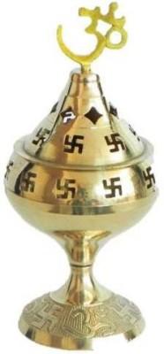 Inspiration World Swastic Brass Table Diya