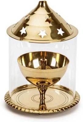DDD Brass Udappi Deep Brass Table Diya(Height: 7 inch)