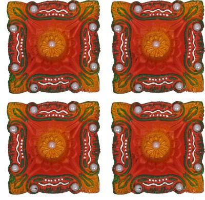 Anaya Terracotta Table Diya Set
