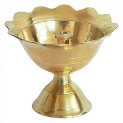 DDD Brass Chandra Mukhi Brass Table Diya