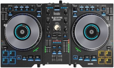HERCULES DJ JogVision Wired DJ Controller